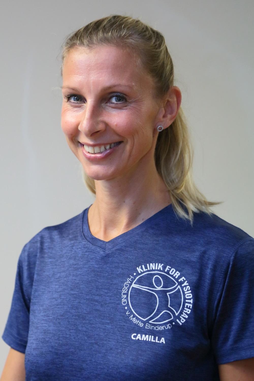 Camilla rygtræning i klinik Hadsund